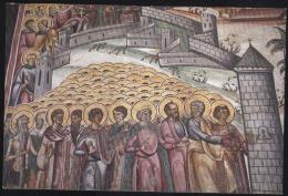 Valcea-Hurezi Monastery-interior Frescoes-Saints-unused,perfect Shape - Saints