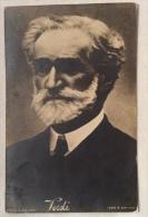 Giuseppe Verdi Cartolina Postale Satrap Ediz. Rota Milano Non Viaggiata F. P. - Music And Musicians