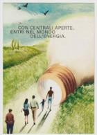PROMOCARD N°  6447   ENEL L' ENERGIA CHE TI ASCOLTA - Reclame