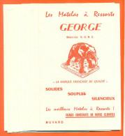 """Lot De 10 Buvards  """"  Le Matelas à Ressorts George  """"  Elephant - Papel Secante"""