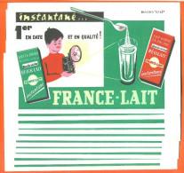 """Lot De 10 Buvards  """"  France Lait - Regilait   """" Appareil Photo - Papel Secante"""