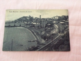 PORTO MAURIZIO - Panorama Da Levante, Ferrovia - Cartolina FP NV - Altre Città