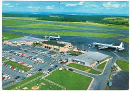 VV-257    LUXEMBOURG : L'aerport Au Findel ( Airport) - Aerodromes