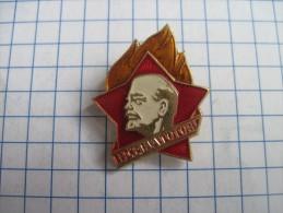 USSR Russia. Pioneers.  Communist  Children`s Organization . Soft enamel