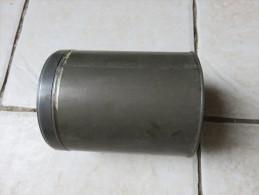 Boite à Pansements (vide) Diamètre 13cm, Hauteur 16,5cm - Equipement