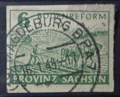 Alliierte Besetzung SBZ 1945 Briefmarken Stempel Magdeburg - Zone Soviétique