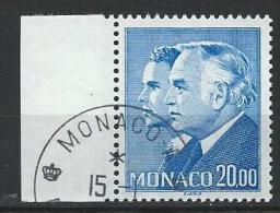 """Monaco YT 1614 """" Princes Rainier III Et Albert """" 1988 1er Jour - Monaco"""