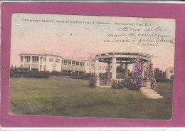 """""""WHITEHALL """" Summer Home Of Capitain Isaac E. Emerson  NARRAGANSETT, R.I. - Non Classés"""