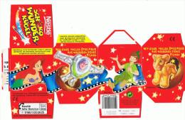Nestle Schoko Wunder Kugel Verpackung - Disney Filmhelden Variante - Diddl & Ü-Eier
