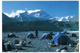 ASIA-824  MOUNT QOMOLANGMA ( Mount EVEREST) Morning Sun - Mountaineering, Alpinism