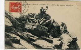 CPA 81 LA SALVETAT ROC DE MONTALET LE ROCHER TREMBLANT 1911 - France