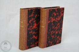 Antique 1826 Small Italian Books, Vol. I & IV - Tragedie Di Vittorio Alfieri, Firenze - Libros, Revistas, Cómics