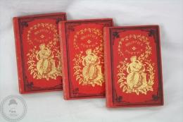 Antique 1800´s Small Italian Books - Biblioteca Poetica - Alfonso Varano, Vincenzo Da Filicaia, Gabriello Chiabrera - Libros, Revistas, Cómics