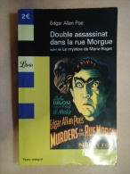 EDGAR ALLAN POE - DOUBLE ASSASSINAT DANS LA RUE MORGUE - Romans