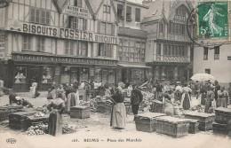 CPA Reims - Place Des Marchés - Reims