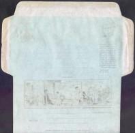 PAKISTAN 1990 Golden Jubilee Aerogramme Rs.5 Jinnah Postal Stationery ERROR Letho Back Print **