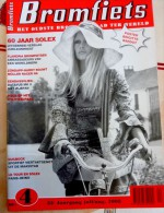 BRIGITTE BARDOT SOLEX VELOSOLEX LES NOVICES Poster Bromfiets 60 Jaar 2008 Magazine Revue Journal - Culture