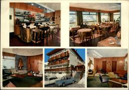 38 - ALPE D'HUEZ - Le Floride - Multi Vues - Carte Pub - France