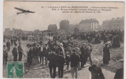 Hauts De  Seine :  ISSY  Les  MOULINEAUX  ( Avion )  MM  Moisan Et Garros  Arrivant D  '  étampes En Monoplan - Issy Les Moulineaux