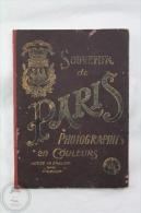Old France Souvenir De Paris - Photographies En Colour - 16 Colour Images - Dreux