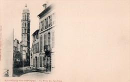 CPA  50  --  DPT  65  --  BAGNERES  DE  BIGORRE  --  LA  TOUR  DES  JACOBINS ..........- - Bagneres De Bigorre