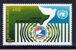 DJI+ 1977 Mi 204 Mnh Aufnahme In Die UNO - Dschibuti (1977-...)