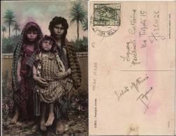 CARTOLINA ILLUSTR POSTA MILITARE 303 1940 EL FATAJAK LIBIA X FIRENZE - Militärpost (MP)