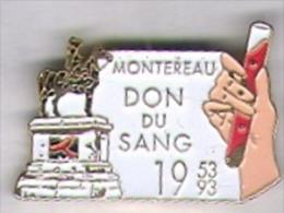 Montereau.Don Du Sang .La Statue De Napoléon - Medizin