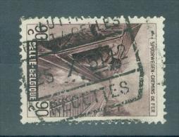 """BELGIE - OBP Nr TR 272 - Cachet """"LUTTRE - PONT-A-CELLES - RECETTES"""" - (ref. VL-4799) - Railway"""