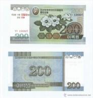 Korea Del Norte - North Kroea 200 Won 2005 (resello 95 Anv.) (2007) Pk-54 UNC - Corea Del Norte