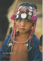 Young Akha Phongsali ( 2013) 2 Scans - Laos