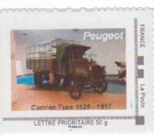 Doubs  -  Sochaux    - Peugeot   Camion Type 1525 (1917) - Gepersonaliseerde Postzegels (MonTimbraMoi)