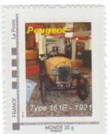 Doubs  -  Sochaux   - Peugeot    Type 161E - 1921 - Gepersonaliseerde Postzegels (MonTimbraMoi)