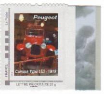 Doubs  -  Sochaux   - Peugeot    Camion Type 153 - 1919 - Gepersonaliseerde Postzegels (MonTimbraMoi)