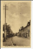 Carte Postale    : Balagny Sur - Thérain - La Rue De Paris - Francia