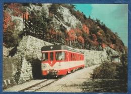 Yverdon Ste-Croix - Automotrice Be 4/4 Le Long Des Rapilles - Railway - Bahn - Trains - Trains