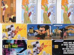 LOT DE 16 TELECARTES D UNE VALEUR DE 4 EURO PIECE - Télécartes