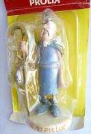 FIGURINE ASTERIX EN RESINE PLASTOY LE DEVIN PROLIX - Asterix & Obelix