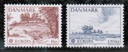 CEPT 1977 DK MI 639-40  DENMARK - Europa-CEPT