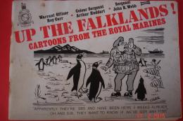 """BD Humoristique En Anglais ,à Props De La Guerre  Des Malouines """"Up The Falklands"""".1982 .Couverture Désolidarisée. - Libri, Riviste, Fumetti"""