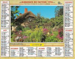 1996 CALENDRIER DES PTT  -  HERAULT - Calendriers