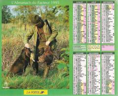 1995 CALENDRIER DES PTT  -  MAINE ET LOIRE - Calendriers