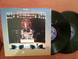 """Rush""""33t X2 Vinyle""""All The World's A Stage"""" - Rock"""