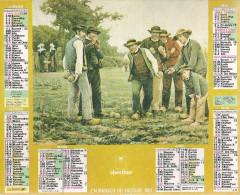 1991 CALENDRIER DES PTT  -  HERAULT - Calendriers