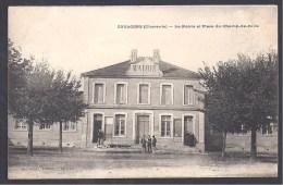 COULGENS - La Mairie Et Place Du Champ De Foire - Frankrijk