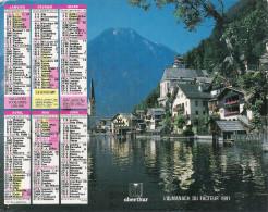1991 CALENDRIER DES PTT  -  MAINE ET LOIRE - Calendriers
