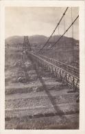 Panama Suspension Bridge Across Canal Real Photo