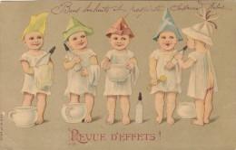 BEBES MULTIPLES BIBERON POT DE CHAMBRE  GAUFRE   /////  REF  FEV.15 / N° 6186 - Bébés