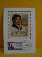 FDC- Carte Maxi, J.F . Champollion 1790/1832 - Paris - 14.10.1972 - 1er Jour, Coté 2,70 € - 1970-79