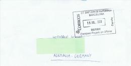 E+ Spanien 2013 Mi Xx Stempel Barcelona (Kuvert) - 1931-Heute: 2. Rep. - ... Juan Carlos I